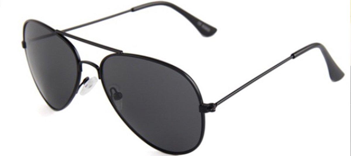 29c3e35990add3 Zwarte zonnebril - pilotenbril