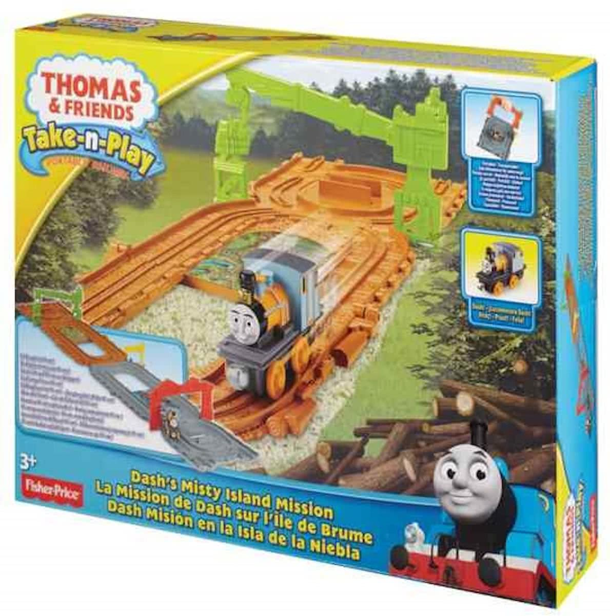 Thomas de Trein Dashs Misty Island Mission