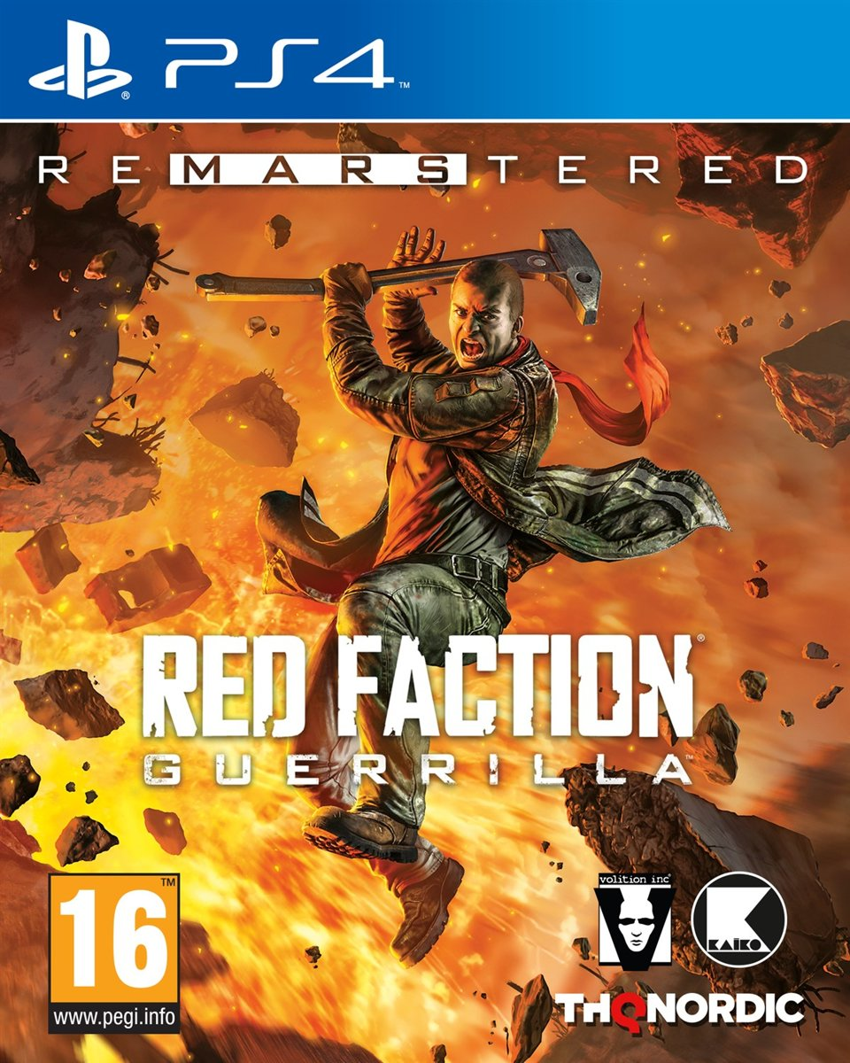 Red Faction Guerilla Re-MARS-tered - PS4