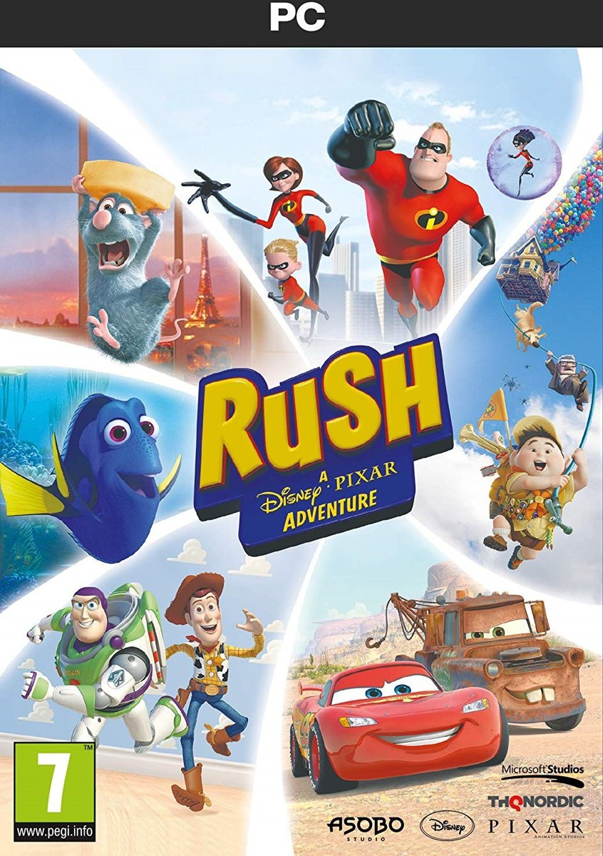 Rush: A Disney-Pixar Adventure PC