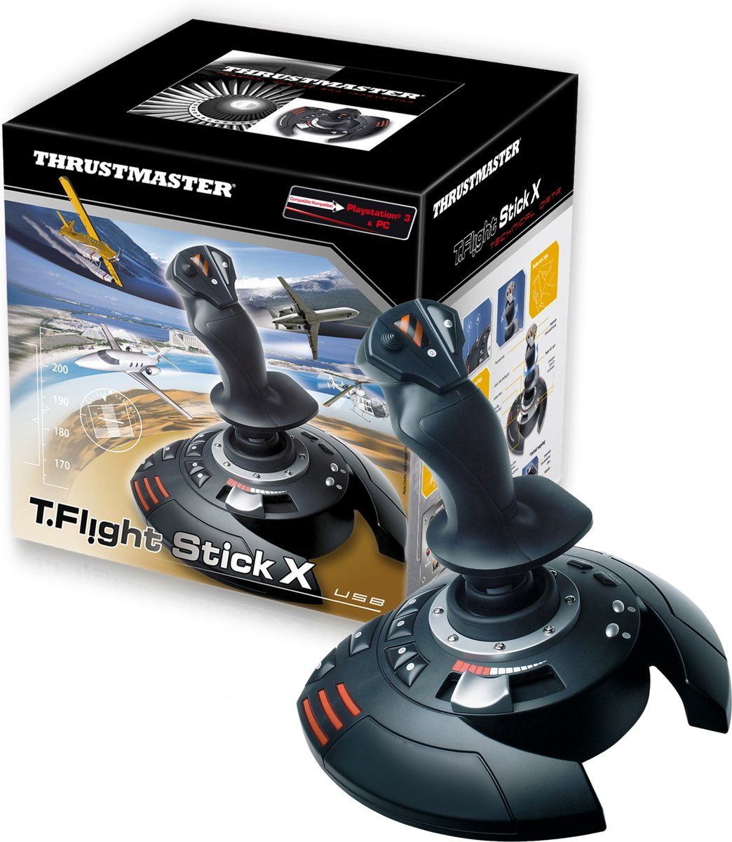 T Flight Stick X Joystick PC + PS3