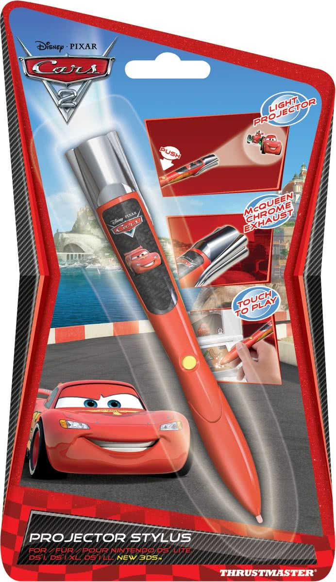 Cars 2 Projector Stylus Rood 3DS