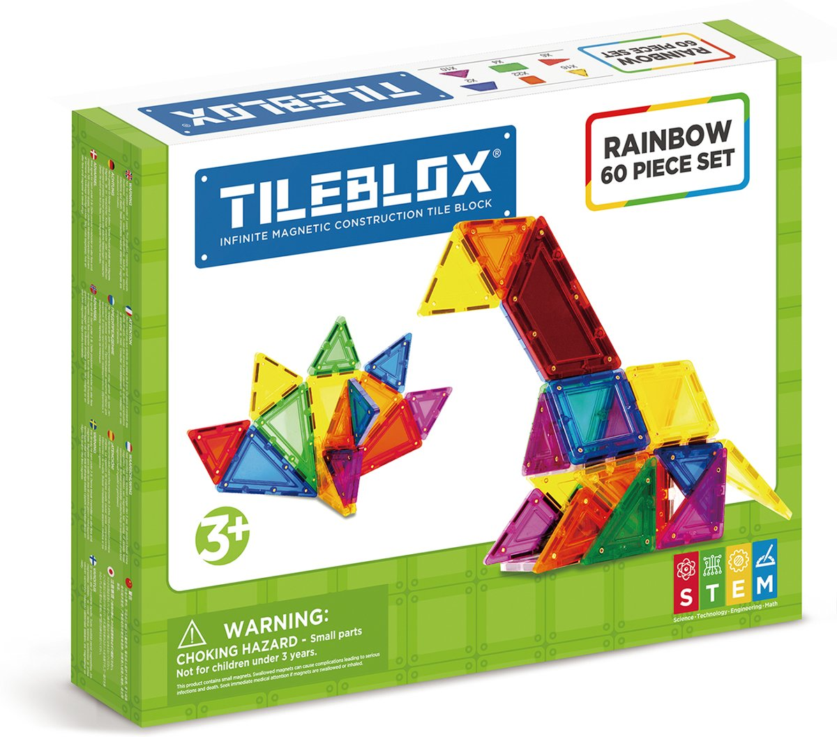 Tileblox - Rainbow 60pc Set