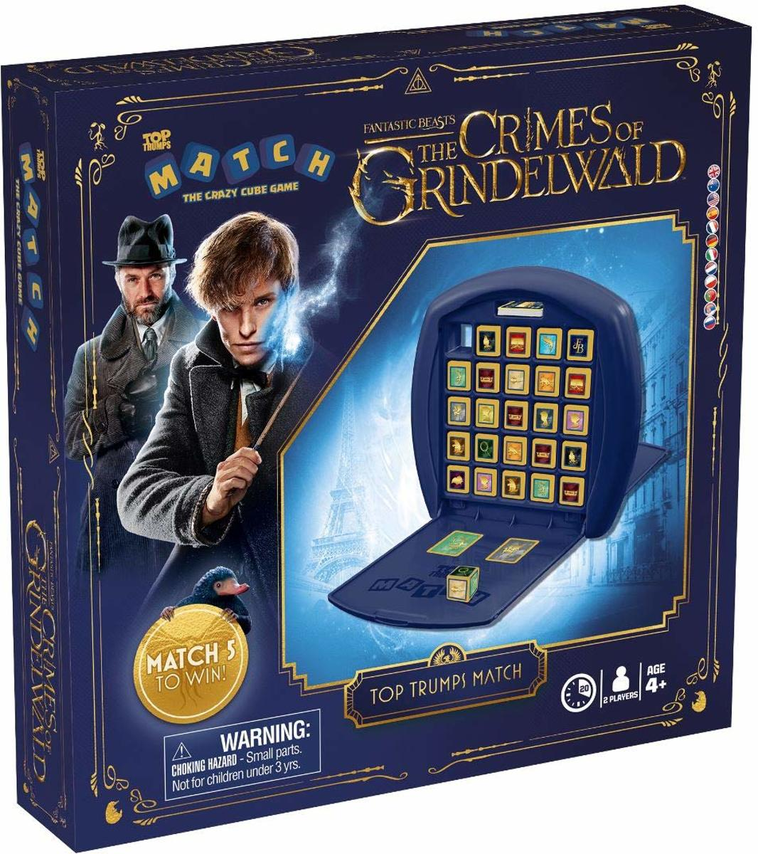 Fantastic Beasts Top Trumps Match Board Game