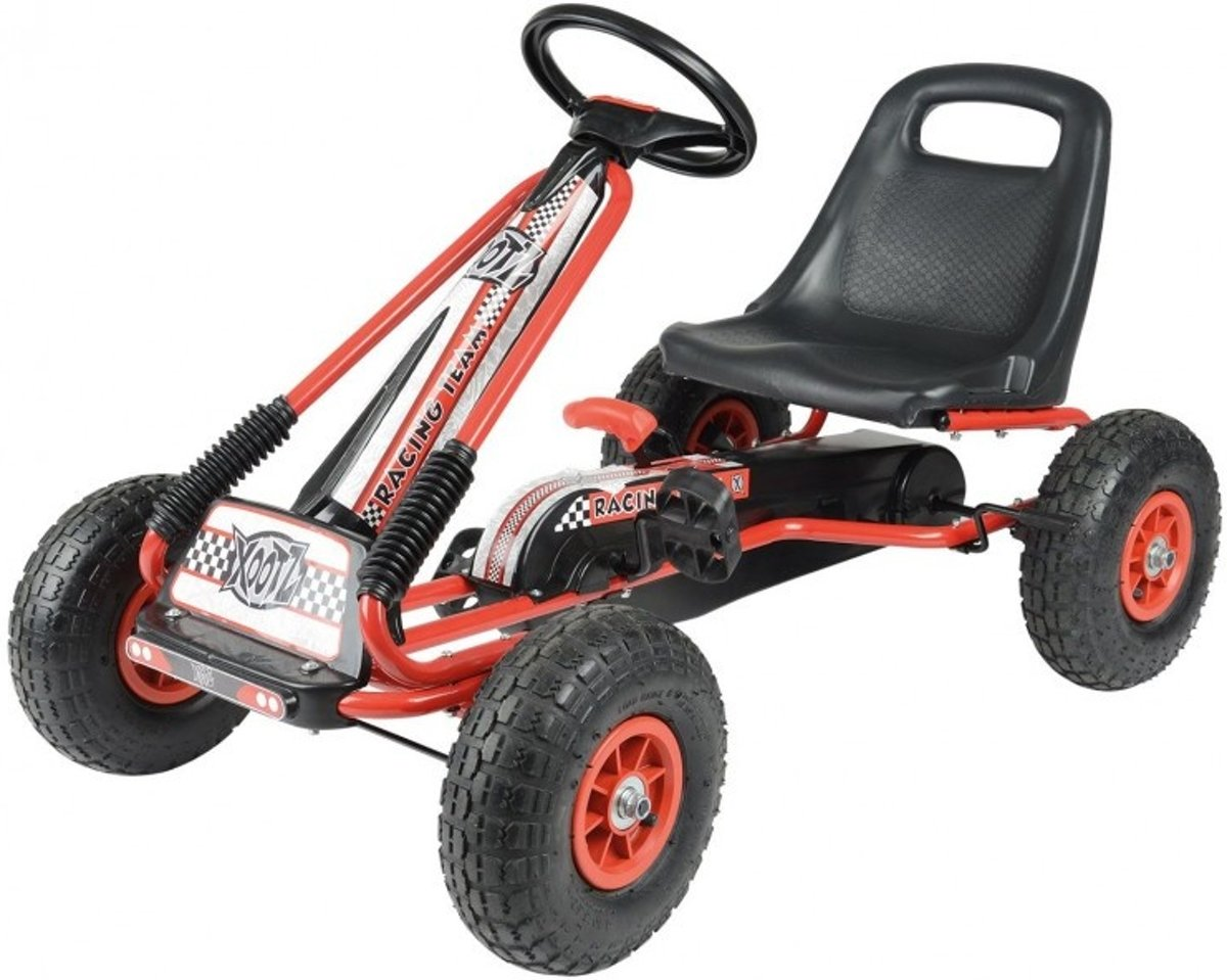 Xootz Go-kart Junior Rood