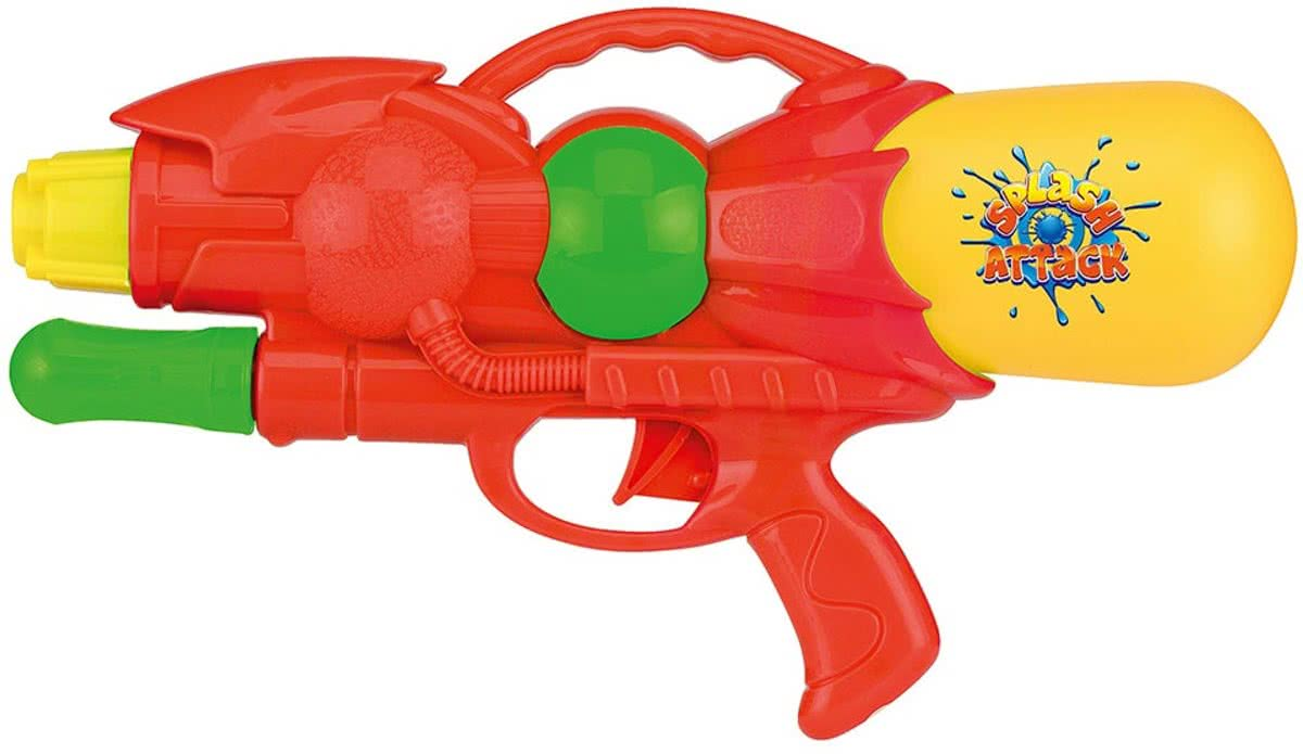 pump action 28cm rood