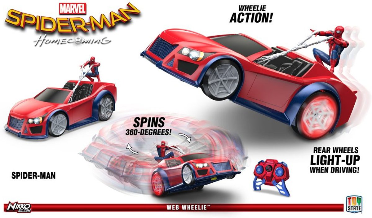 Marvel R/C Racers Spider Man