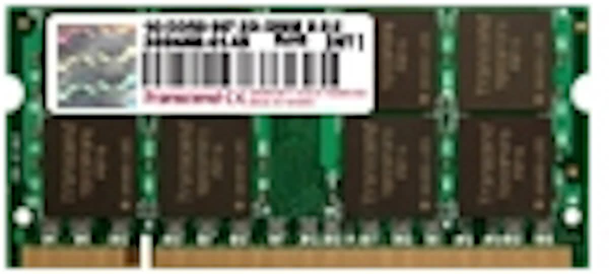 Transcend JetRam - 2GB / DDR2-800 / 200-pin SO-DIMM