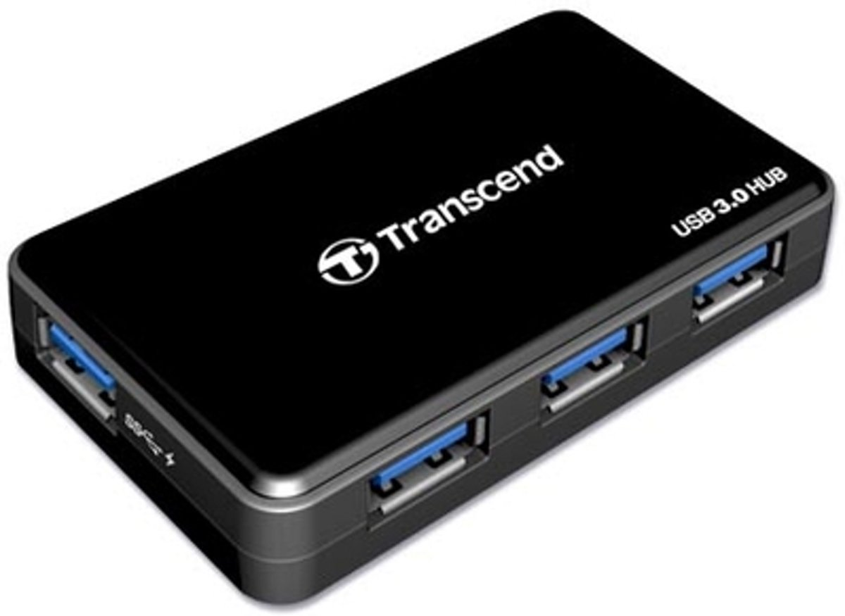 Transcend USB 2.0 / USB 3.04-port Hub