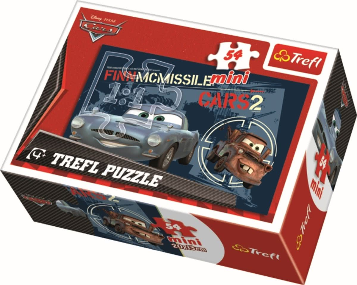 Mini - Cars 2 / Disney Cars Picture 4 - 54 pcs Legpuzzel