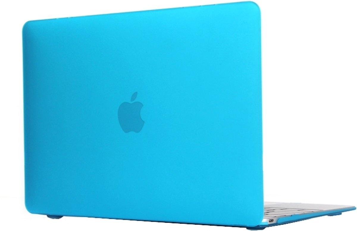 Macbook 12 INCH Case Cover Hoes (A1534)| + Dust Plugs|Baby Blauw / Baby Blue