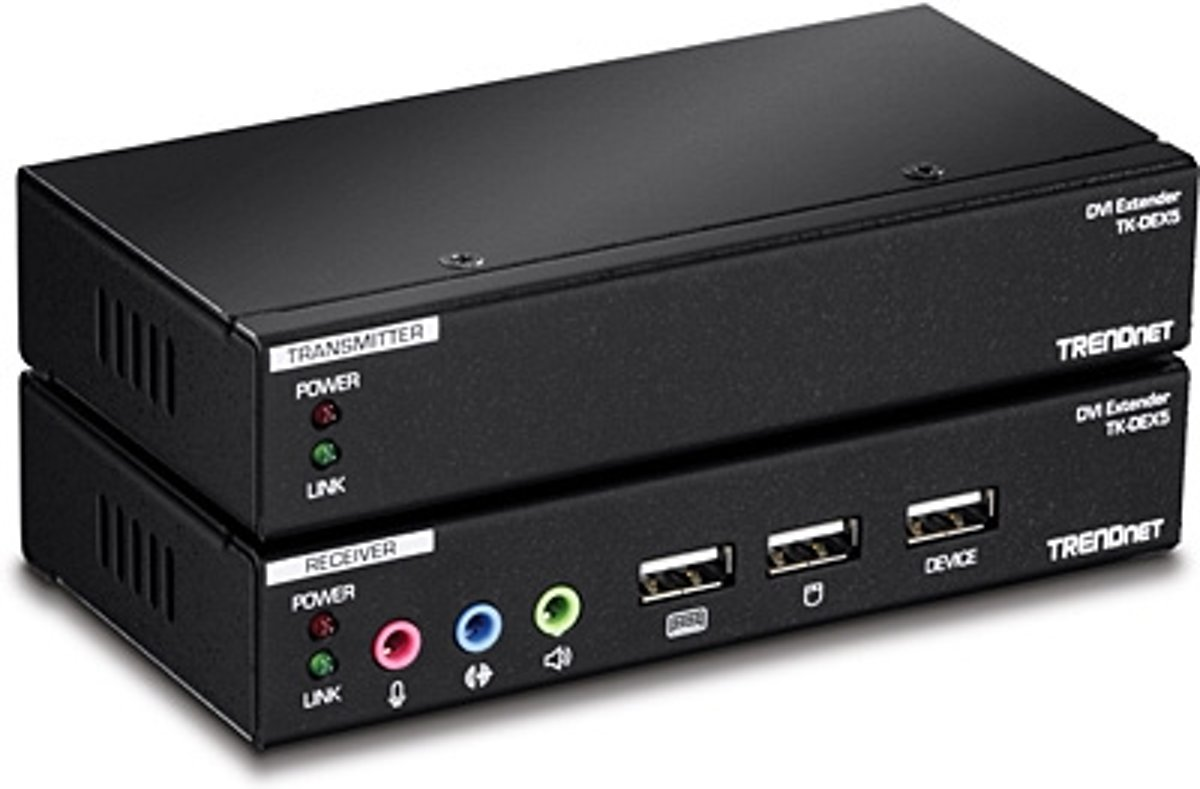 DVI KVM Extension Kit with Audio Support