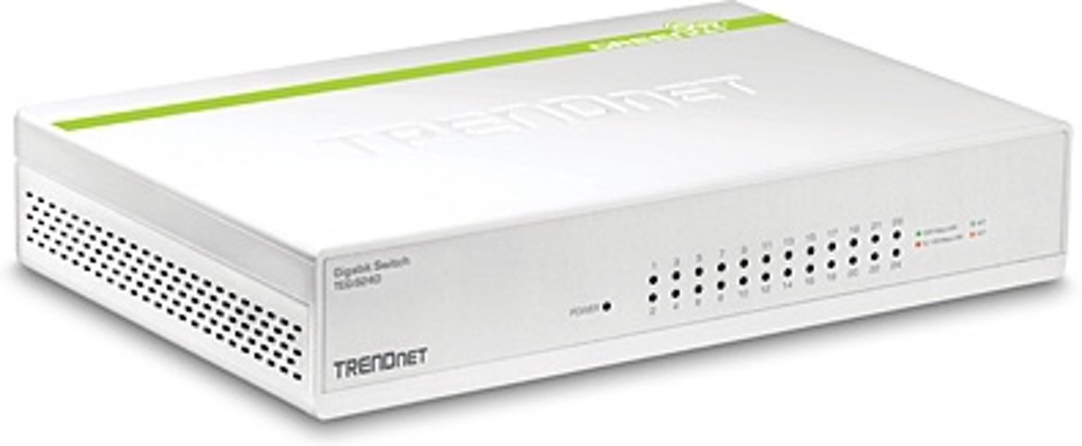 Trendnet netwerk-switches 24-Port Gigabit GREENnet Switch