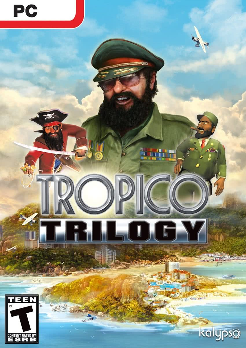 Tropico trilogy 1 +2 +3 + add-ons - Windows