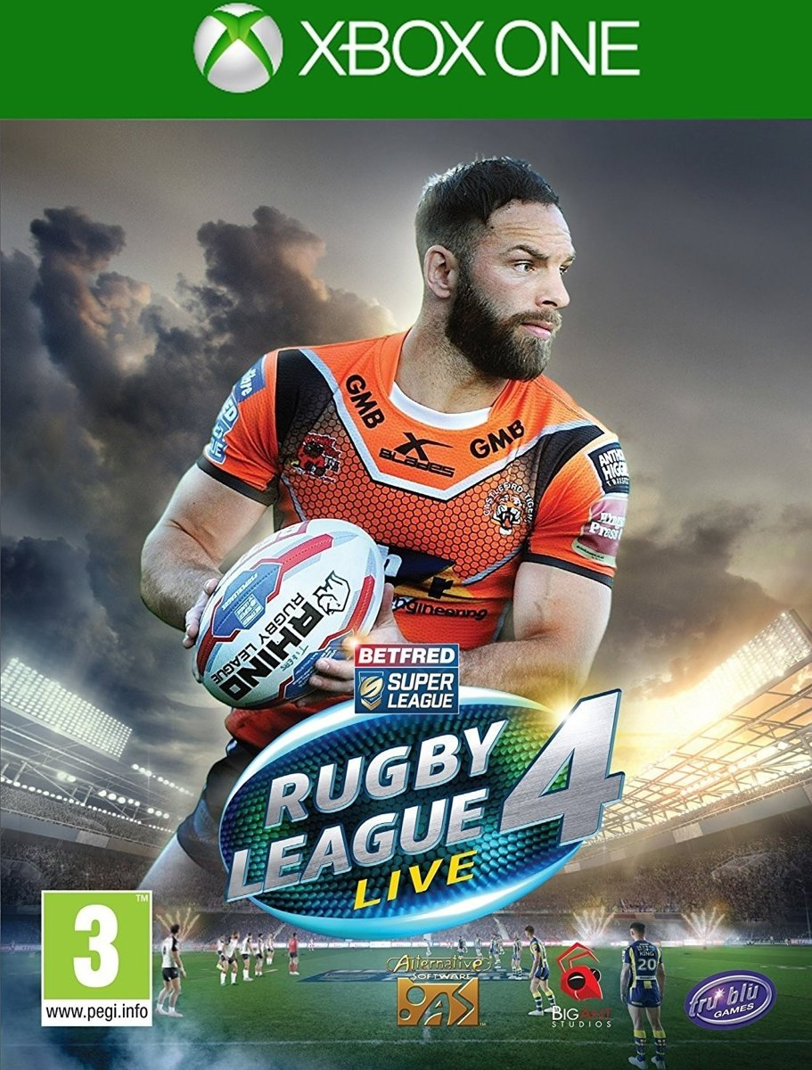 Rugby League Live 4 /Xbox One
