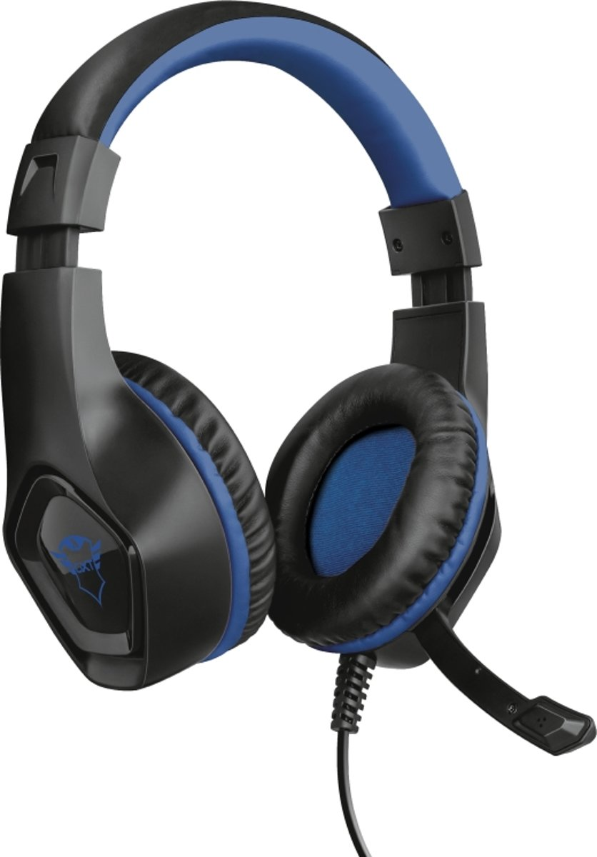 GXT 404B Rana - Gaming Headset - PS4 - Zwart/Blauw