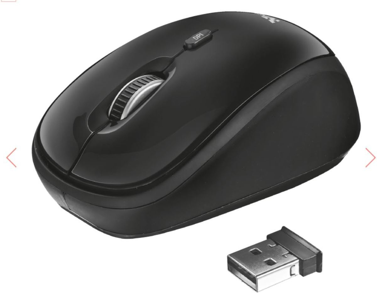 Rona Wireless Mouse - black