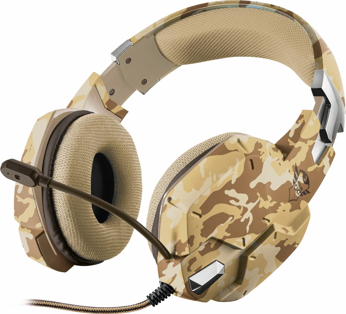GXT 322 Carus - Dynamische Gaming Headset - Desert Camouflage