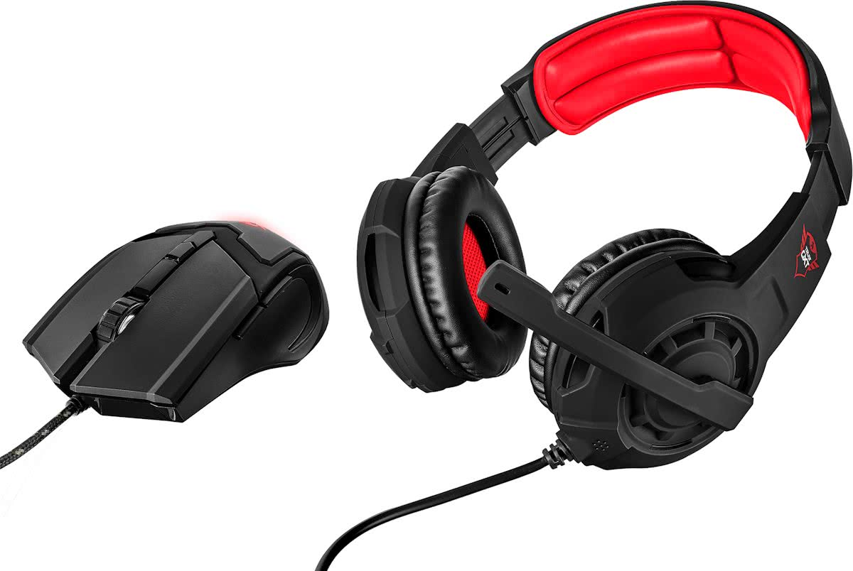 Trust GXT 784 - Gaming Headset + Muis