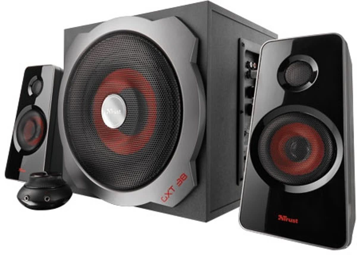Gxt 38 2.1 Subwoofer Speaker Set PC + PS3 + Xbox 360 + Wii