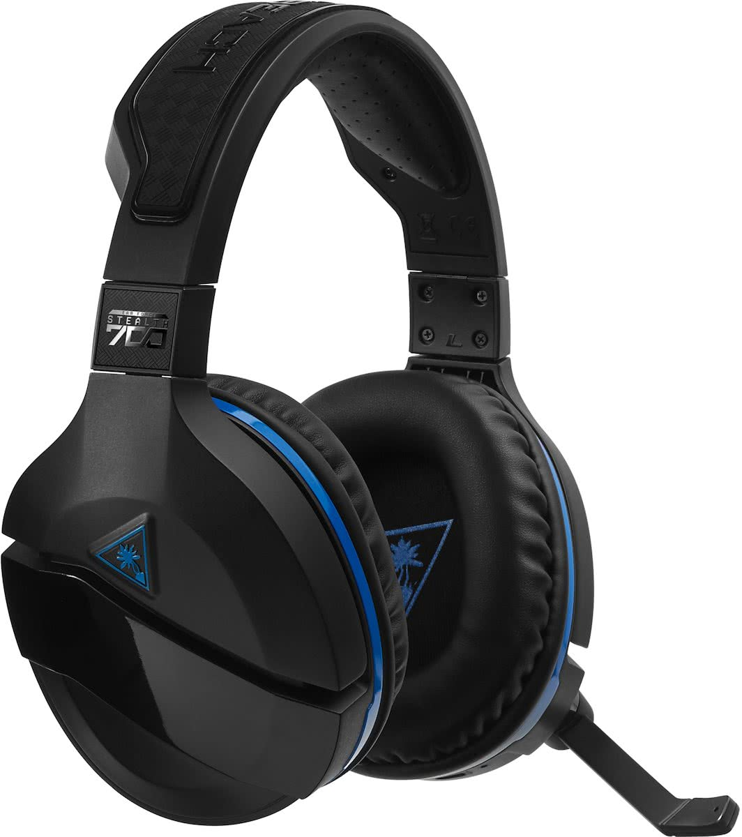 TURTLE BEACH® STEALTH 700 premium draadloze surround sound gamingheadset voor PlayStation®4 Pro en PlayStation®4
