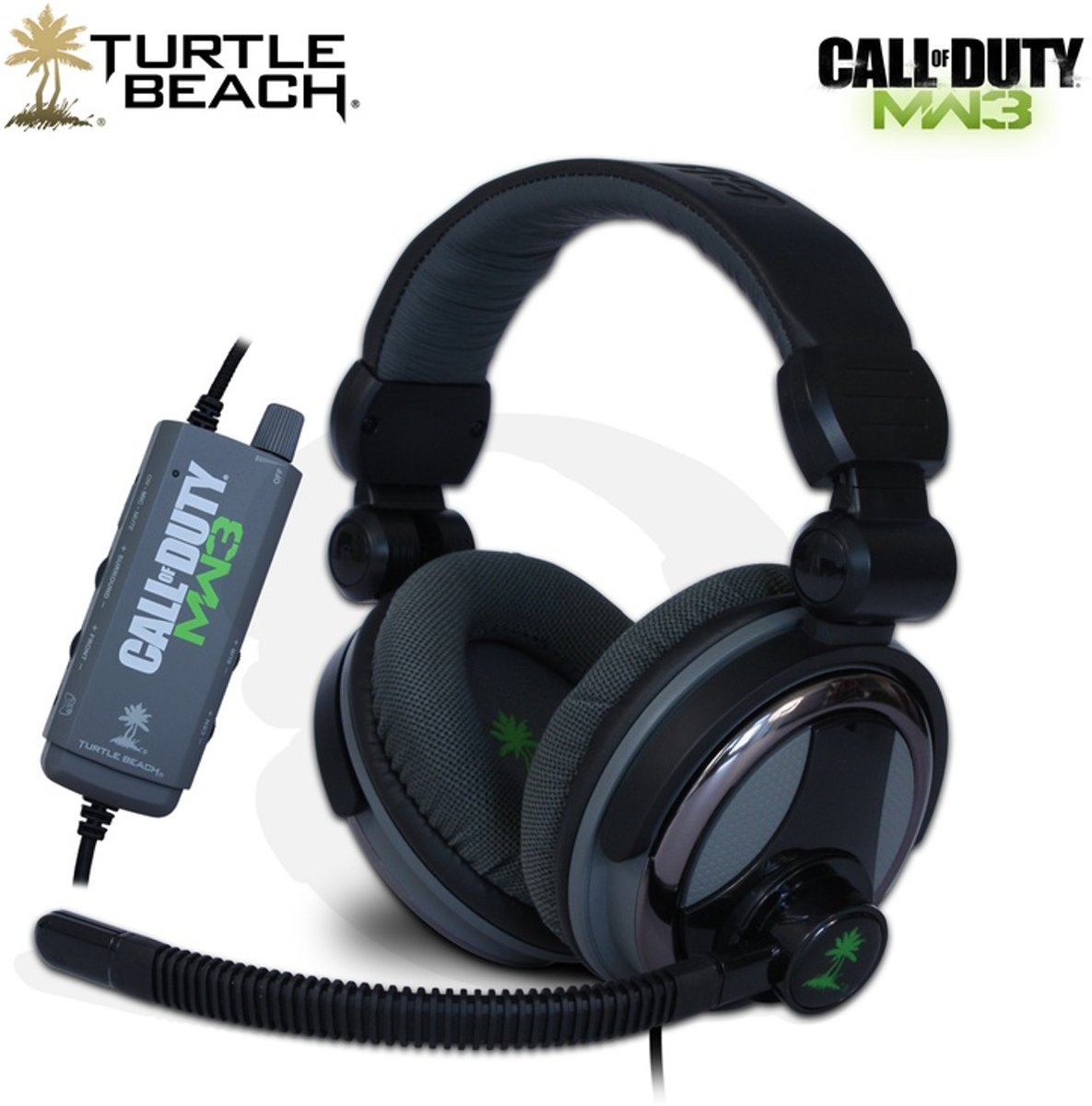 Turtle Beach Ear Force Charlie Call Of Duty: Modern Warfare 3 Wired 5.1 Surround Gaming Headset - Zwart (PC)