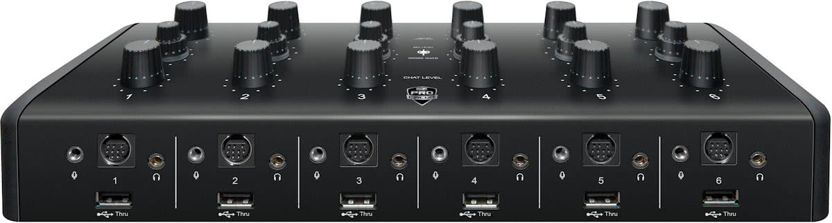 Ear Force TM1 MLG Pro Gaming Tournament Mixer - Zwart
