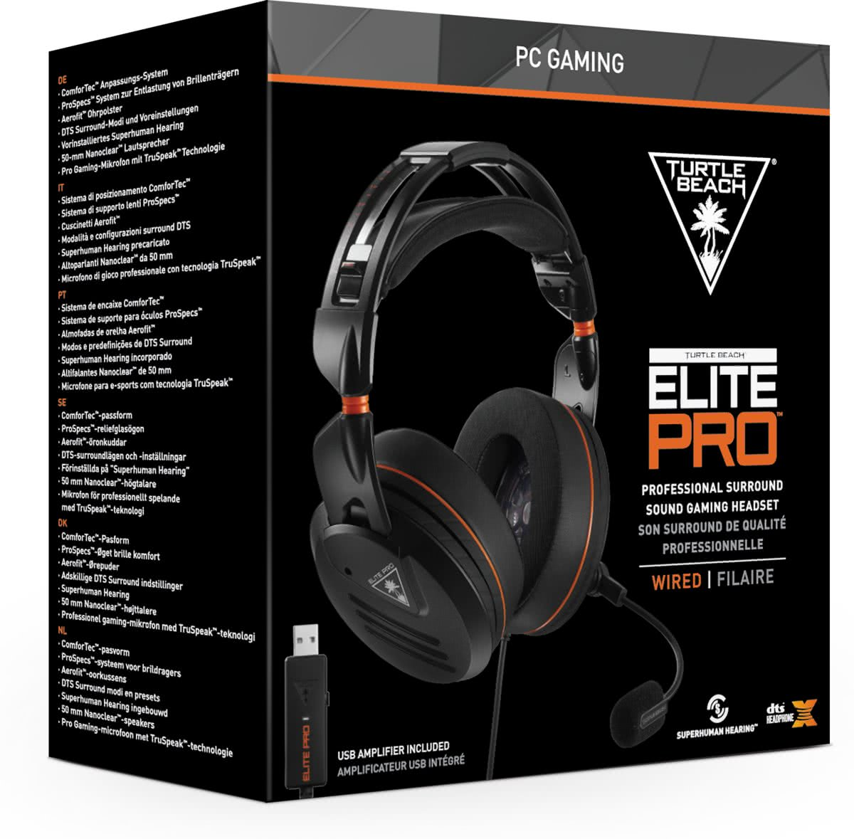 Turtle Beach Elite PRO PC (inclusief USB Soundcard)