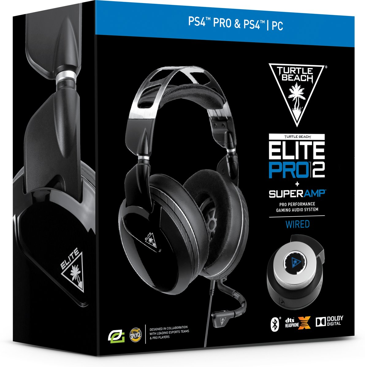 Elite Pro 2 + Super AMP - PS4 + PC - Zwart
