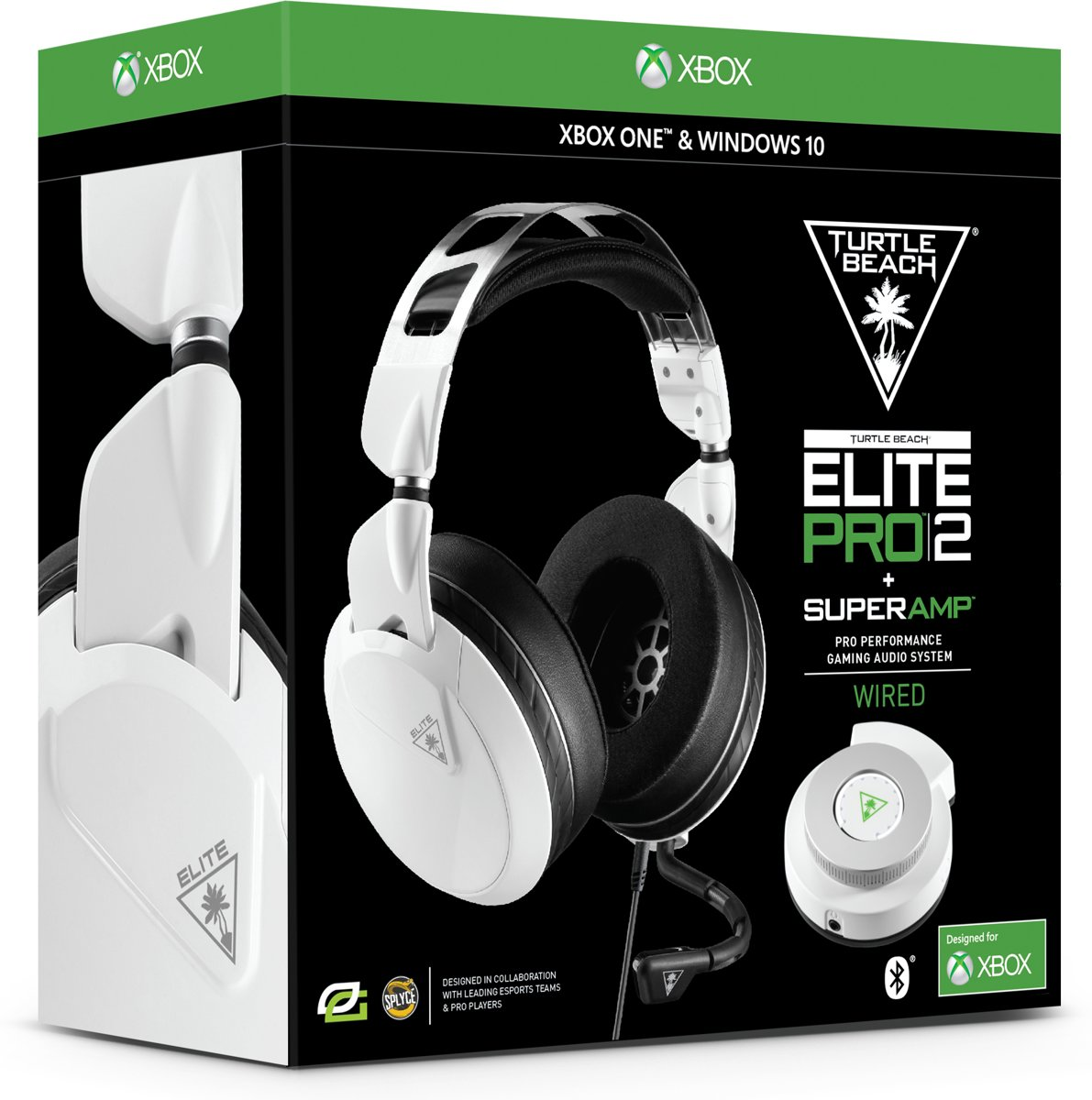 Elite Pro 2 + Super AMP - Xbox One + Windows 10 - Wit