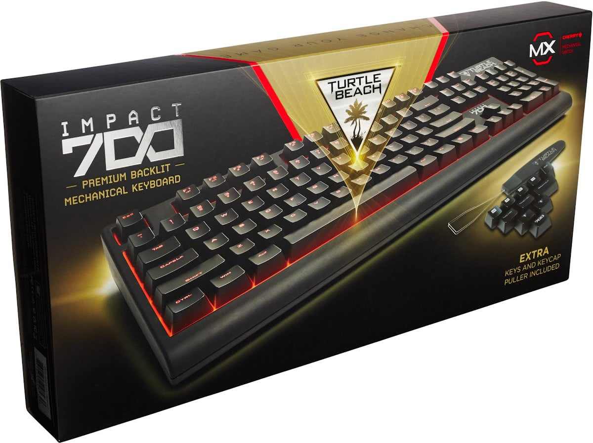 Turtle Beach Impact 700 - premium backlight mechanisch QWERTY gaming toetsenbord
