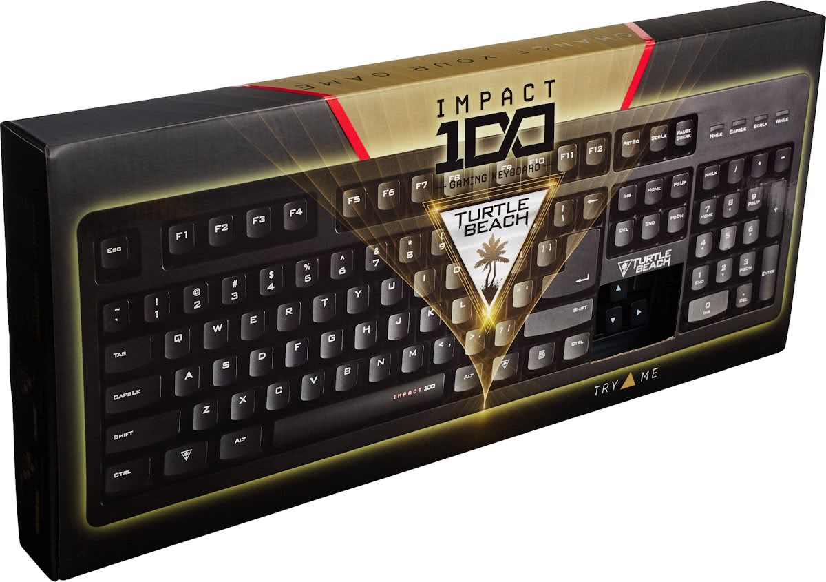 Turtle Beach impact 100 hybride gaming QWERTY toetsenbord
