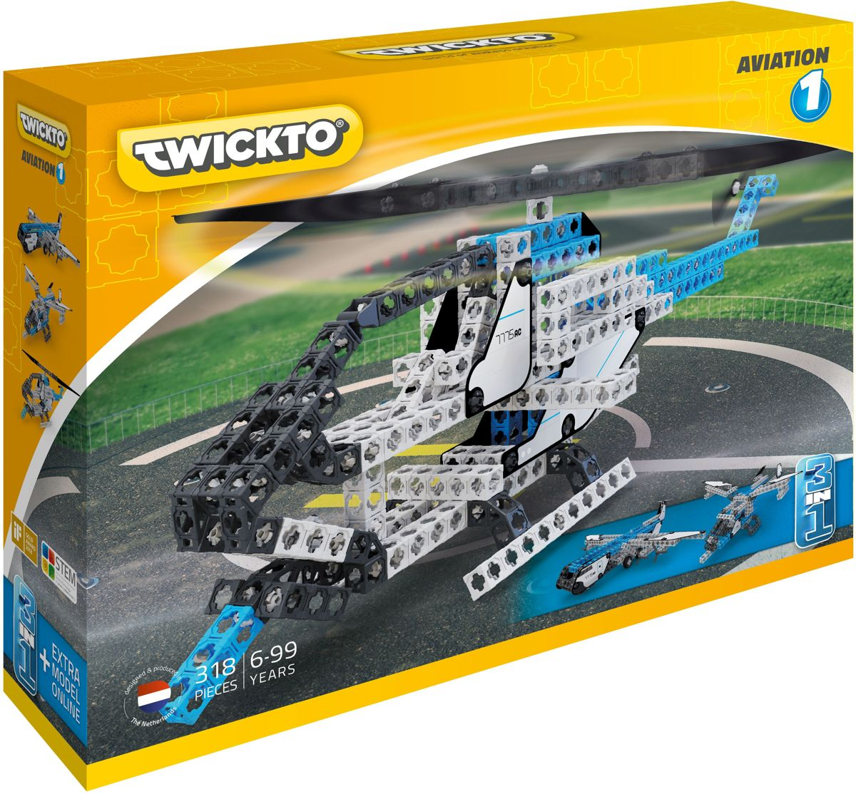 Twickto Aviation 1 318-delig