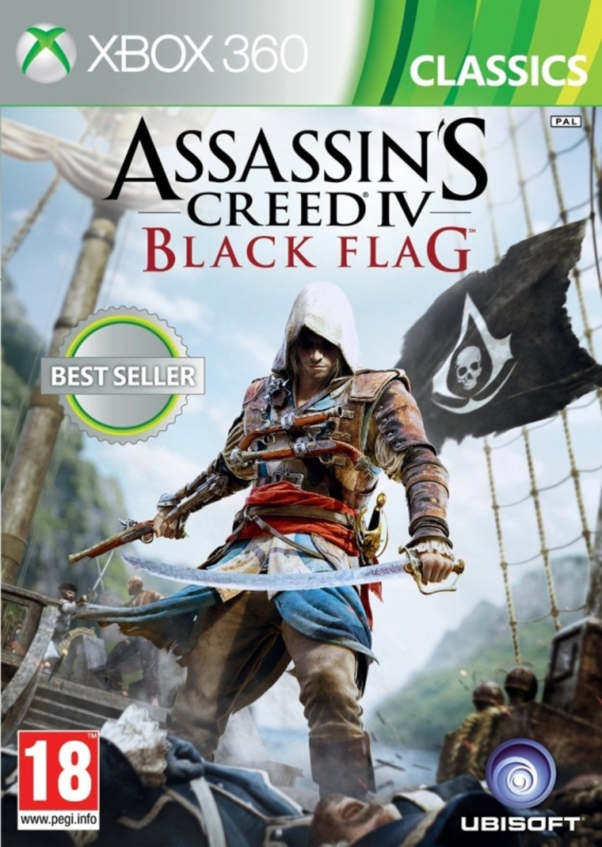 Assassins Creed IV (4) Black Flag (Classics) /X360