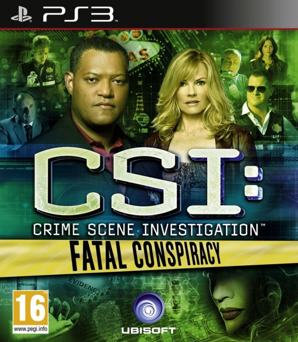 CSI: Crime Scene Investigation - Fatal Conspiracy /PS3