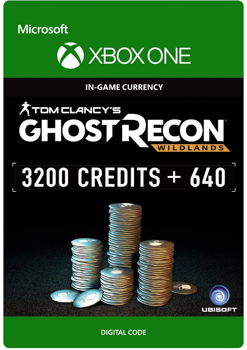 Ghost Recon: Wildlands - Currency Pack - 3200 credits + 640  - Xbox One