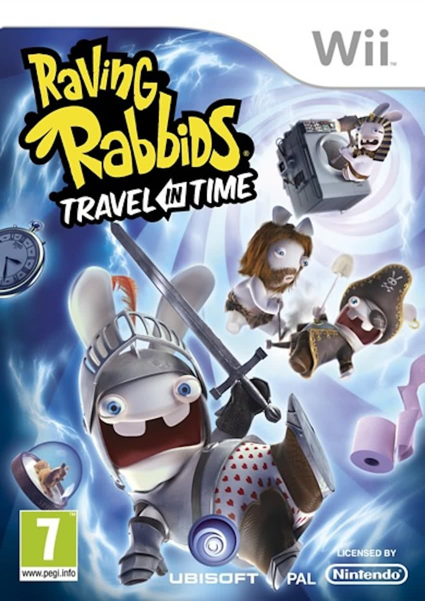 Raving Rabbids, Travel in Time  Wii