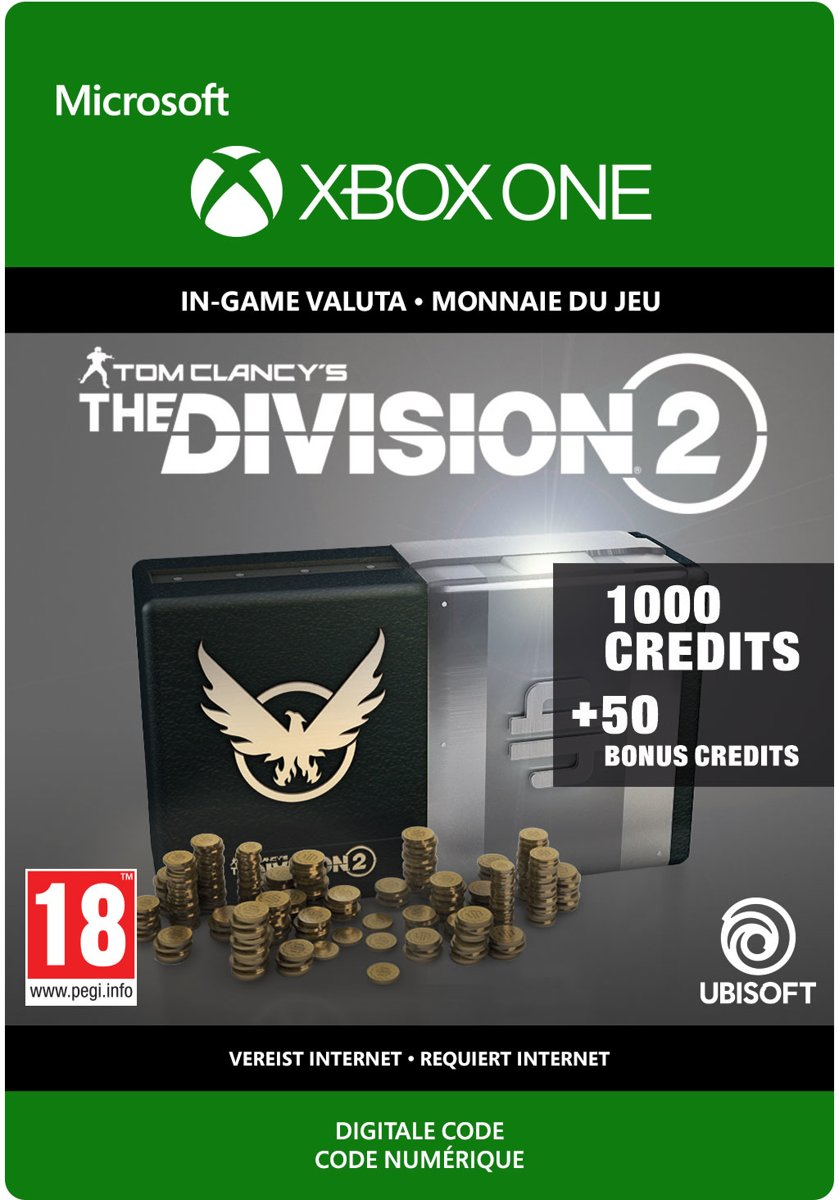 The Division 2: 1.050 Premium Credits Pack - Xbox One Download