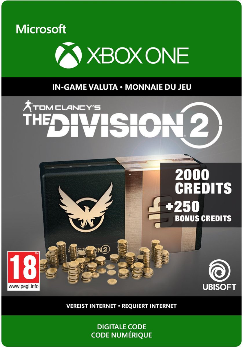 The Division 2: 2.250 Premium Credits Pack - Xbox One Download