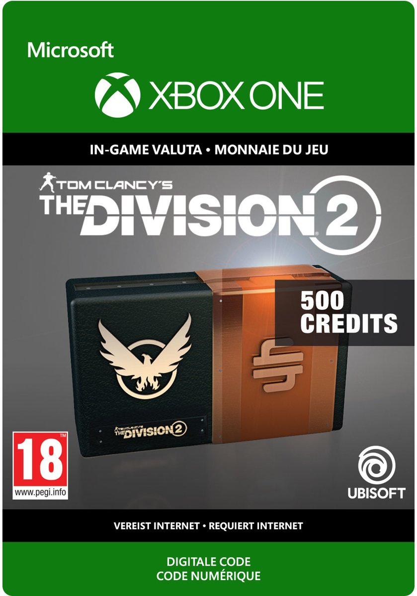 The Division 2: 500 Premium Credits Pack - Xbox One Download