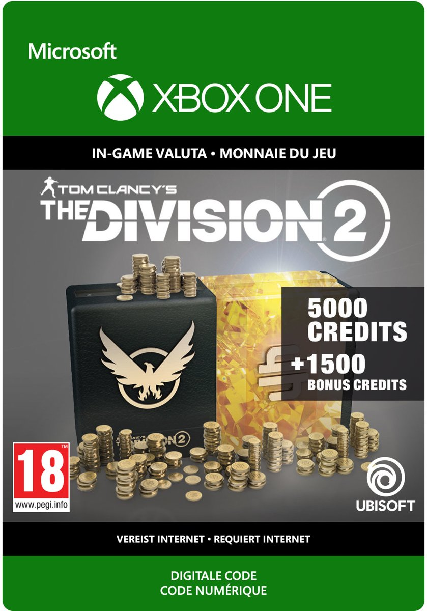 The Division 2: 6.500 Premium Credits Pack - Xbox One Download