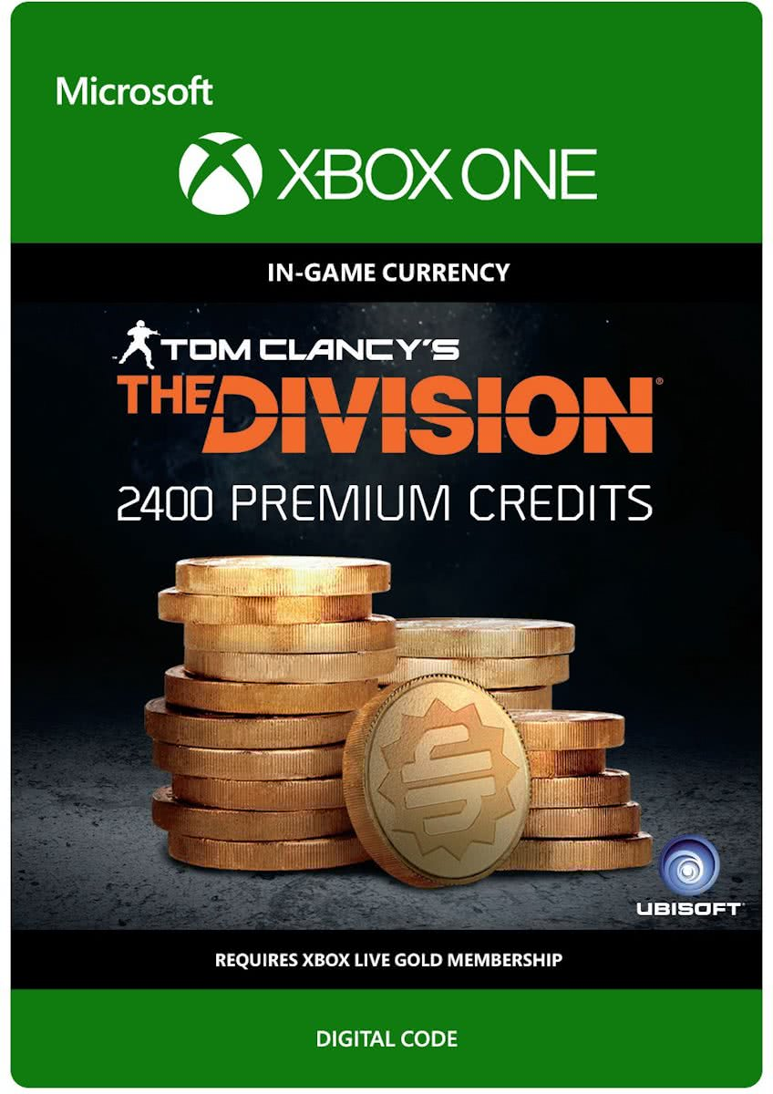 Tom Clancys The Division - Currency pack - 2.400 Premium Credits - Xbox One