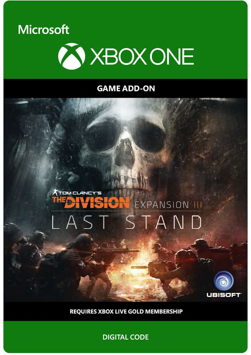 Tom Clancys The Division - Last Stand DLC - Add-On - Xbox One