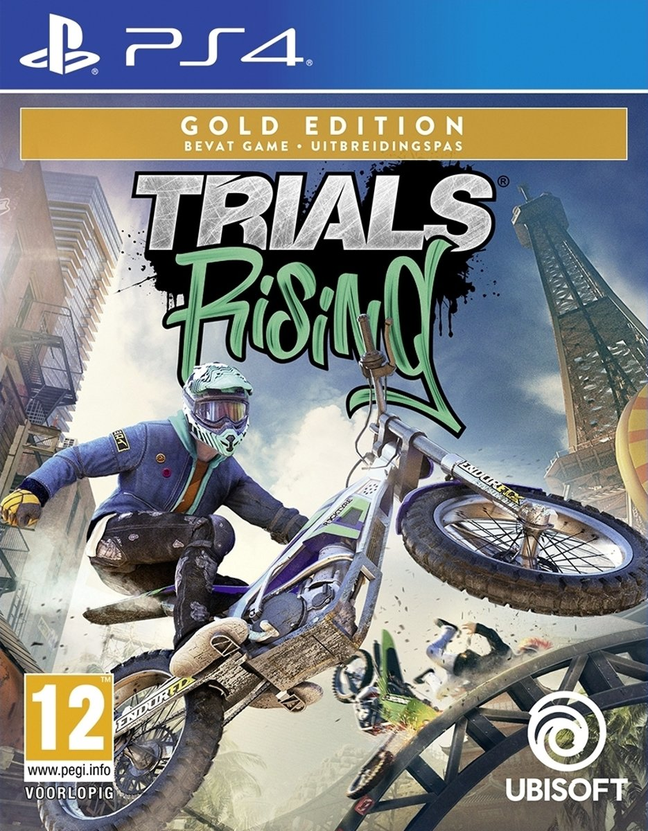 Trials Rising - Gold - PS4