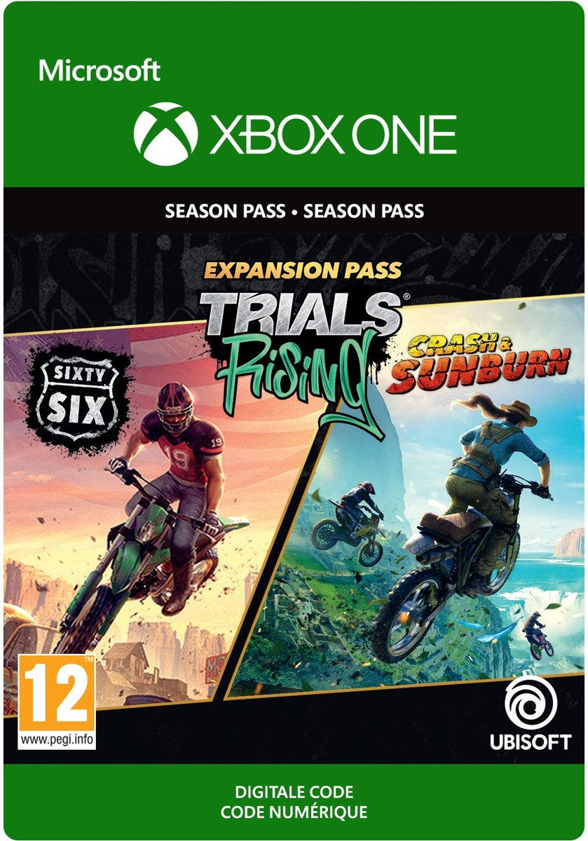 Trials Rising: Expansion Pass - Xbox One Download - Season Pass
