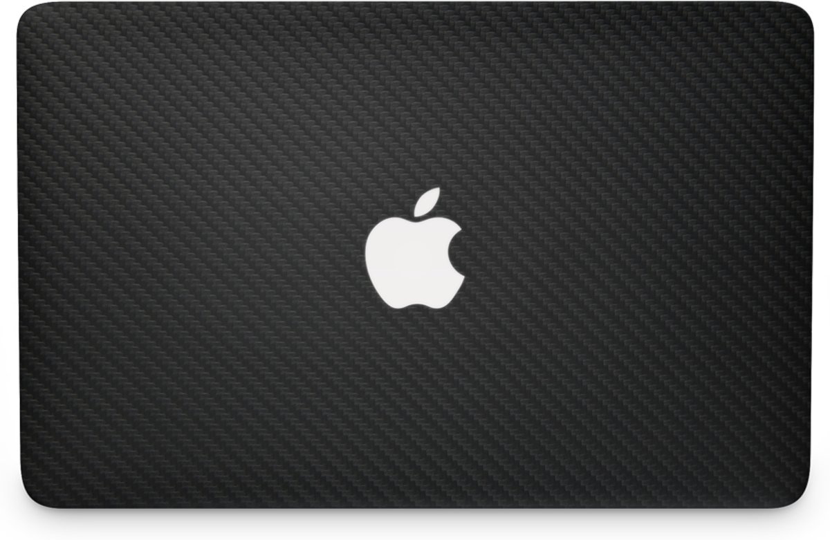 MacBook Air 13 Skin Carbon Zwart (2012-2017)