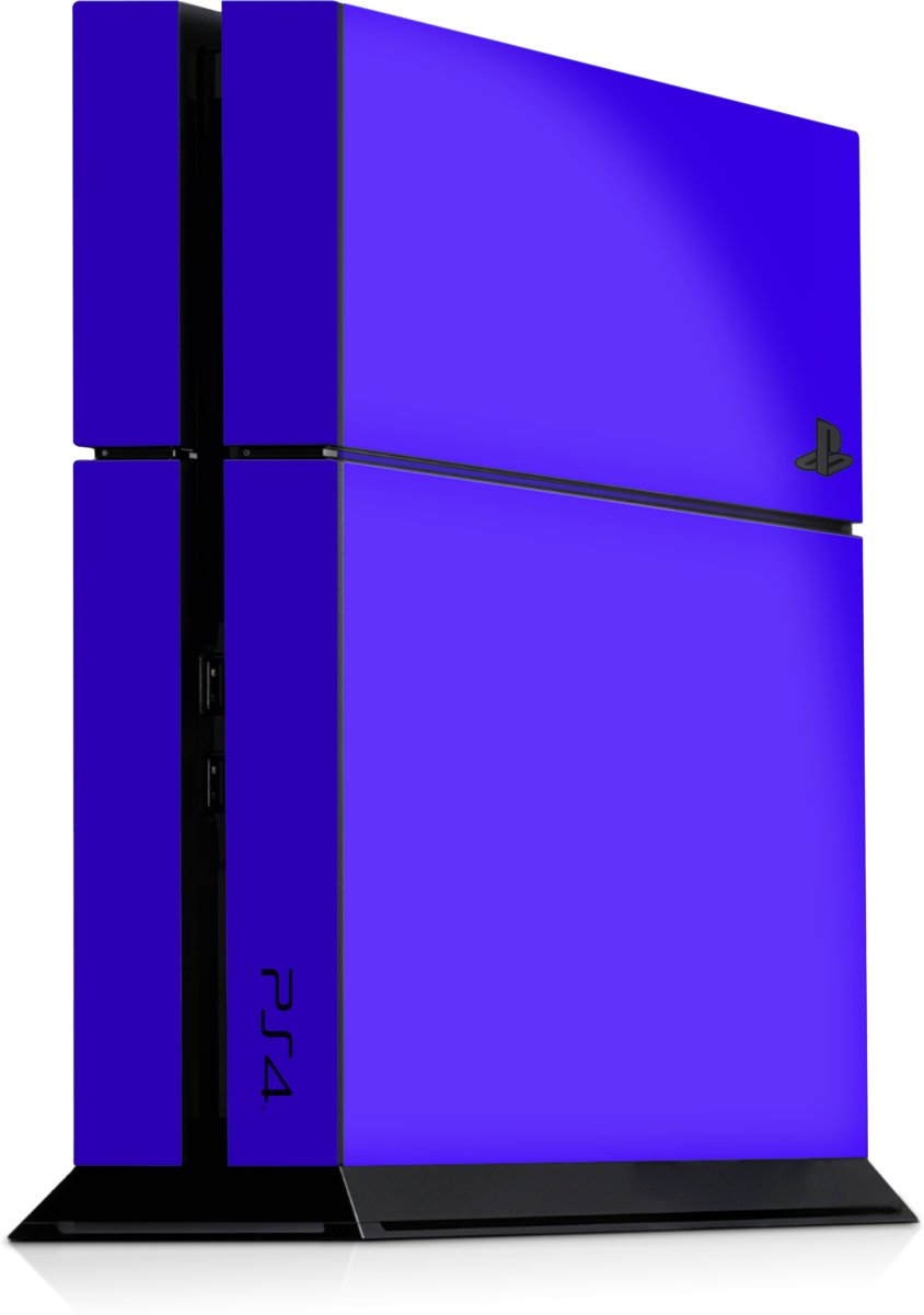Playstation 4 Console Skin Blauw
