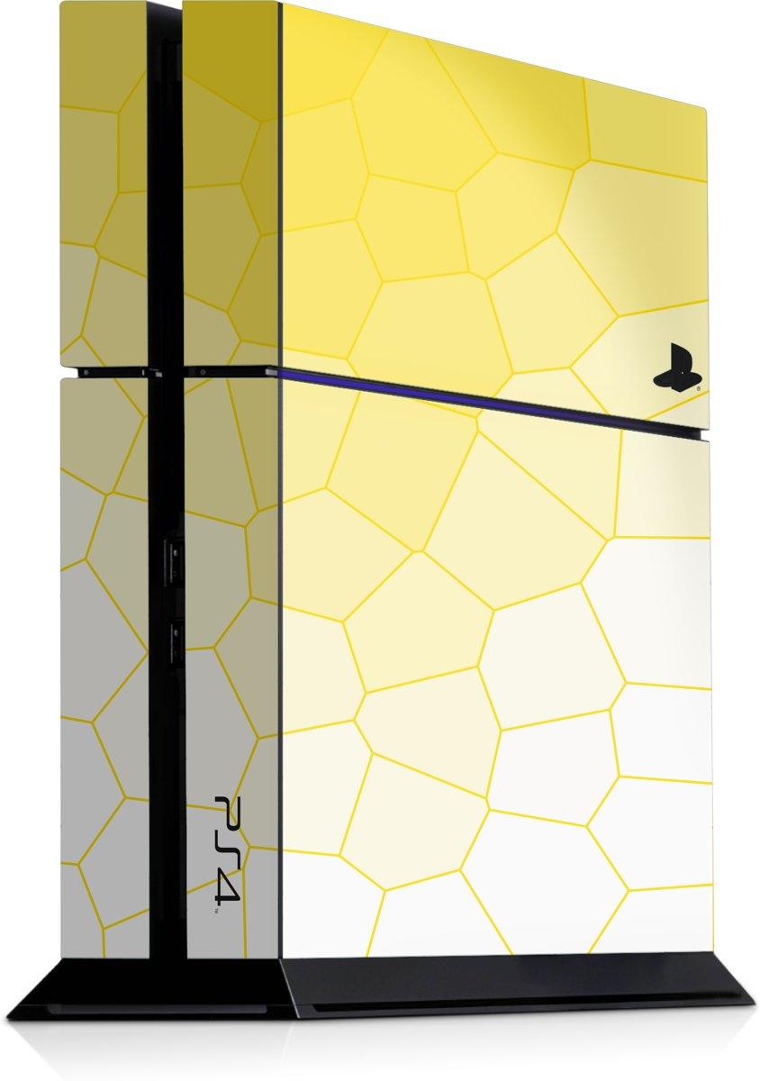 Playstation 4 Console Skin Cell Geel
