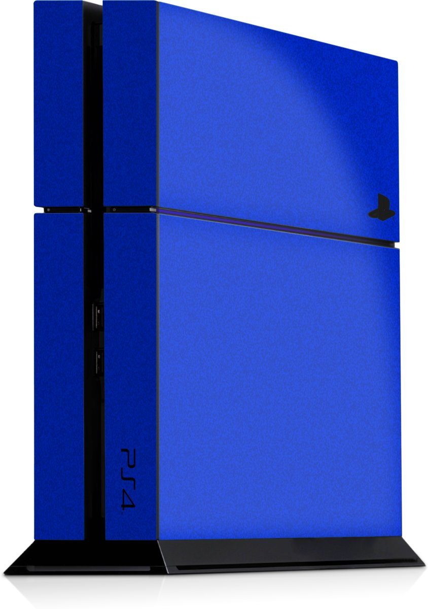 Playstation 4 Console Skin Faded Blauw