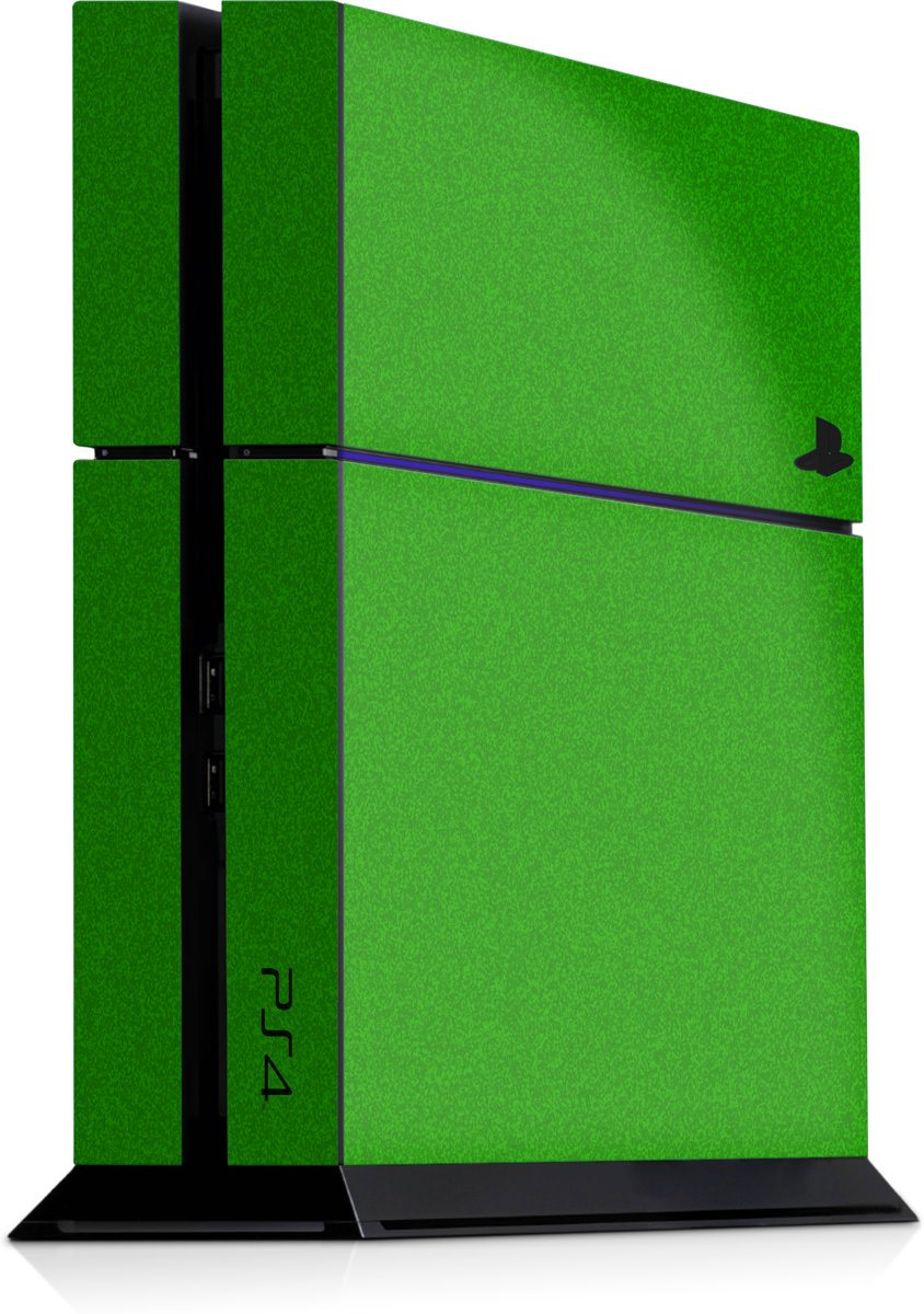 Playstation 4 Console Skin Faded Groen